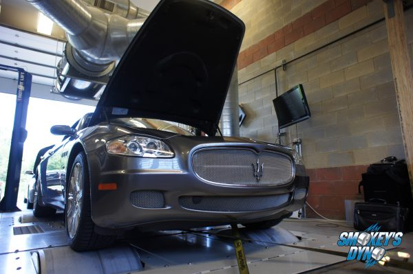 Maserati Quattroporte On Smokey's Dyno