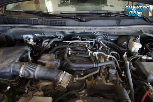 Stock 5.7 Liter Toyota Tundra Engine