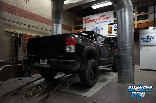 TRD Toyota Tundra On Smokey's Dyno